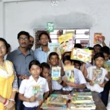 Kisholoy Siksha Sadan - Reading Corner