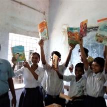Mahamayapur Adarsha Vidyapith - Reading Corner