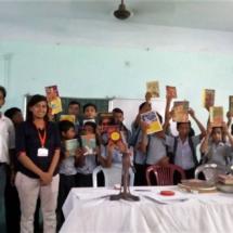 Makhla High School, Uttarpara - Reading Corner